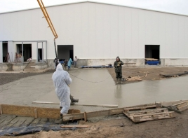 Долговечные бетонные полы с топпингом