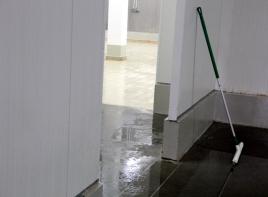 Монтаж бетонных полов с топпингом