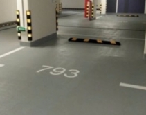 Готовый пол для подземной парковки