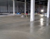Качественные бетонные полы с топпингом