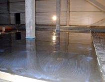 Стоимость бетонных полов с топпингом