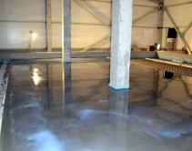Заказать бетонные полы с топпингом